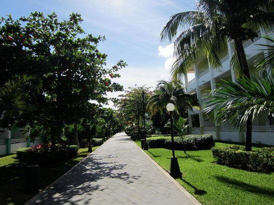Hotel Riu Playacar: Resort grounds