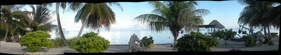 Nanihi Paradise: vu du lagon