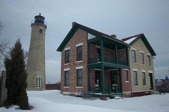 Kenosha History Center: Southport Lighthouse and keepers house