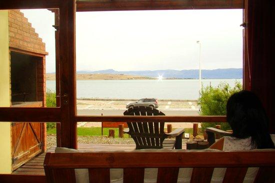 Altos de la Costanera - Aparts: Lago Argentino, sector Bahía Redonda desde el comedor.