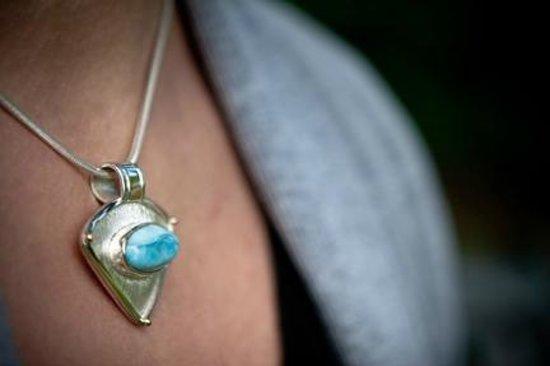 DeLong Studio: Turquoise Pendant