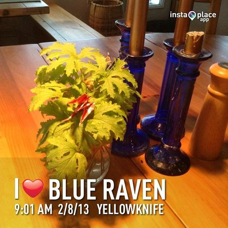 Blue Raven B&B: such a comfy atmosphere