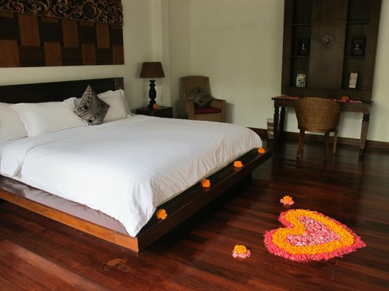 The Kampung Ubud Villa: Room