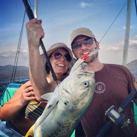 Cristal Azul: Fishing!