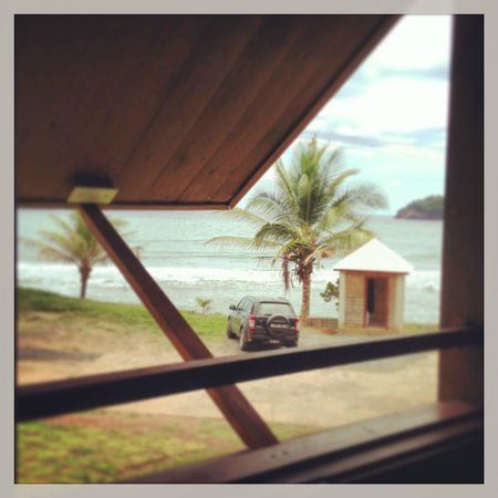 Pagua Bay House Oceanfront Cabanas : View from the room