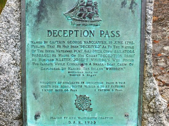 ‪‪Deception Pass State Park‬: How the pass got its name.‬