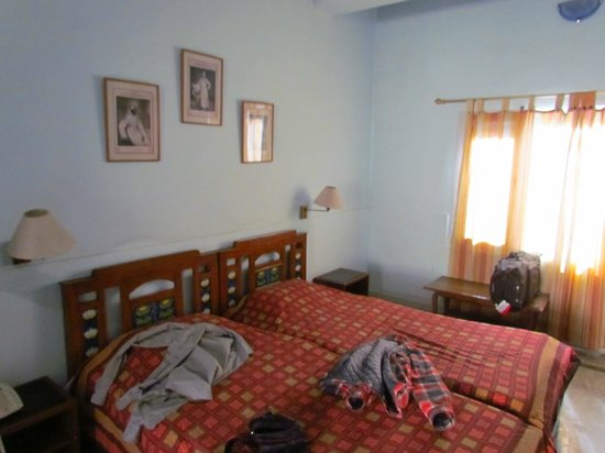 Hotel Chirmi Palace: Sunny large bedroom