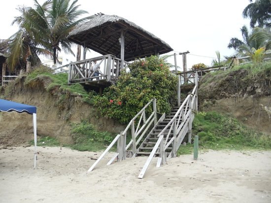Hotel Puerto Ballesta: view from beach
