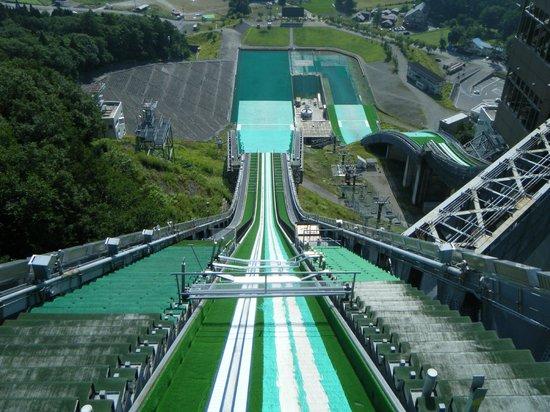 Hakuba-mura, Giappone: 白馬ジャンプ台