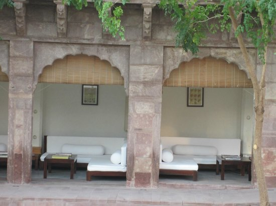 RAAS: view to garden seating
