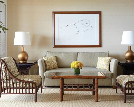 Four Seasons Resort Maui at Wailea : Living Room in a 1 bedroom suite