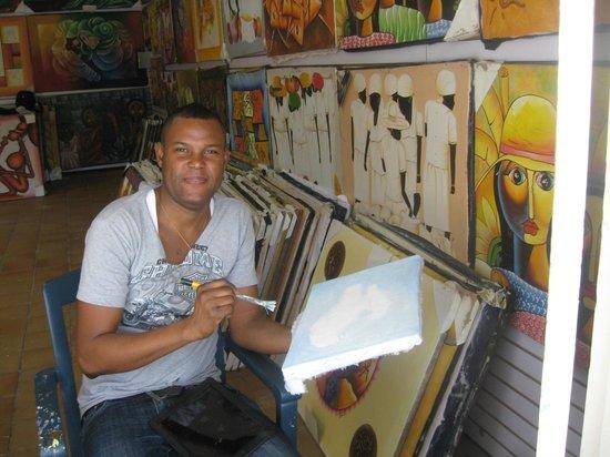 ClubHotel Riu Bambu: Johnny