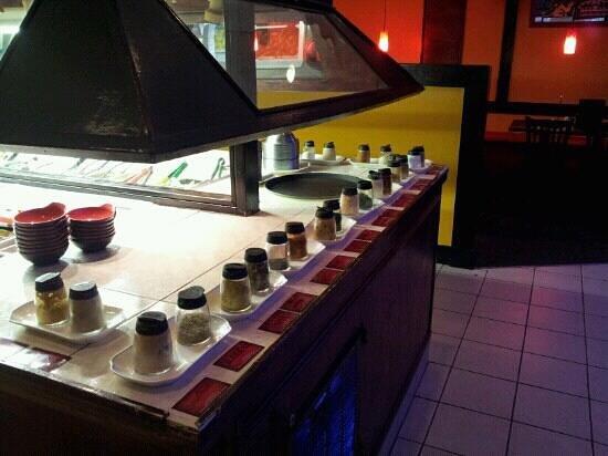 Zali Mongolian Grill: spices
