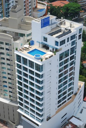 Tryp by Wyndham Panama Centro: Hotel Building