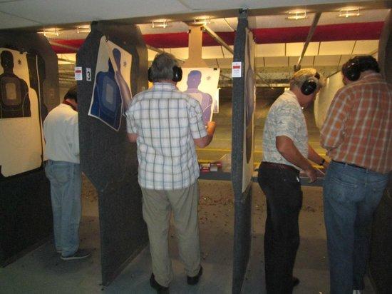 American Shooters: We had 3 lanes