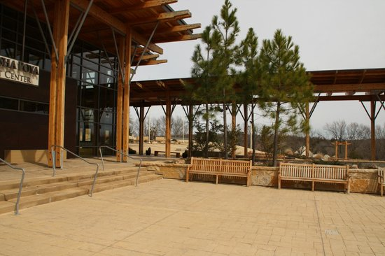 Chickasaw Cultural Center: Pavillion