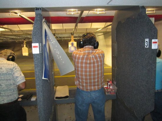 American Shooters: Me shooting the 38 Special Rhino revolver
