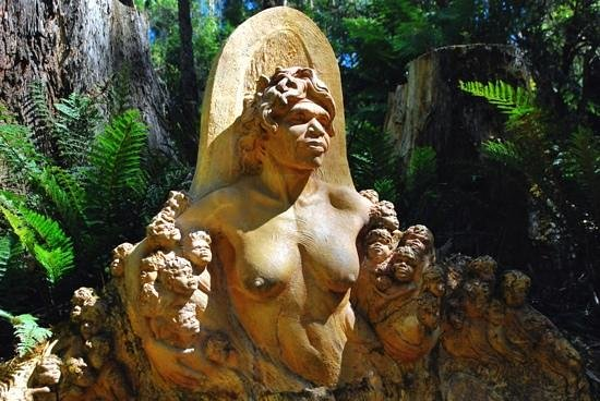 ‪‪Mount Dandenong‬, أستراليا: William Ricketts Sanctuary - Sculpture‬