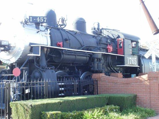 Lomita Railroad Museum: Steam Engine
