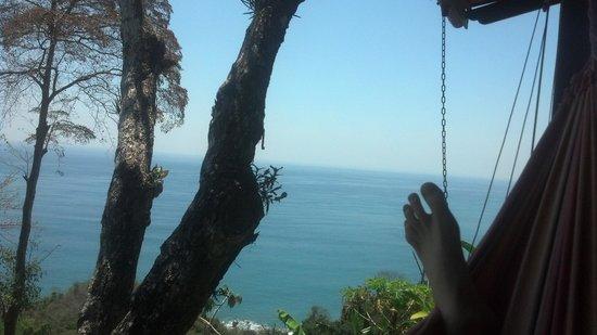 Anamaya Resort & Retreat Center: Hammock on the Yoga Deck
