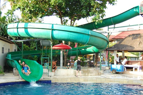Bali Dynasty Resort: Waterslide