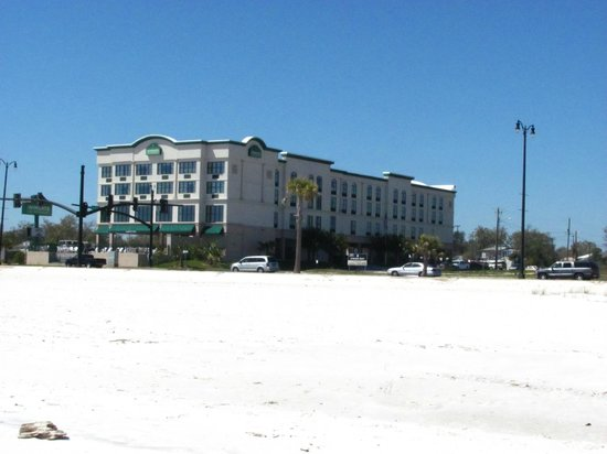 Wingate By Wyndham Gulfport A Picture Of The Hotel From Beach