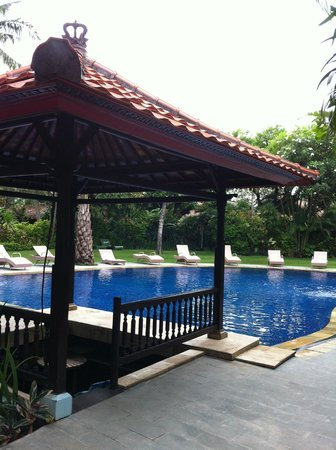 Three brothers bungalows pool