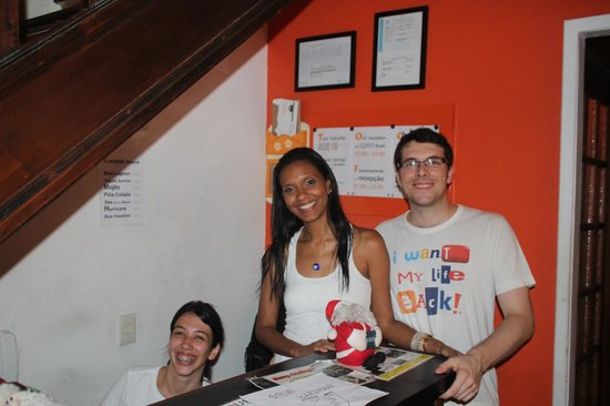 Walk On The Beach Hostel: Friendly and helpful reception staff