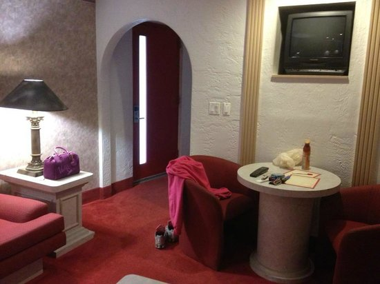 Pocono Palace Resort: garden of eden apple room entrance