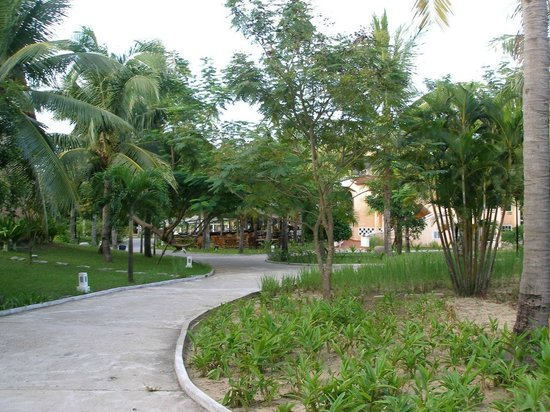 le belhamy resort & spa: Территория отеля