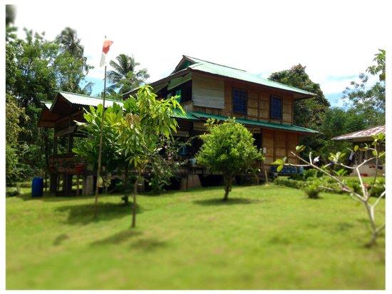 Bunaken SeaGarden Resort: Dining area