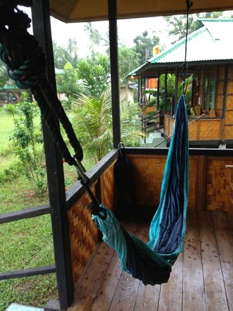 Bunaken SeaGarden Resort: The hammock