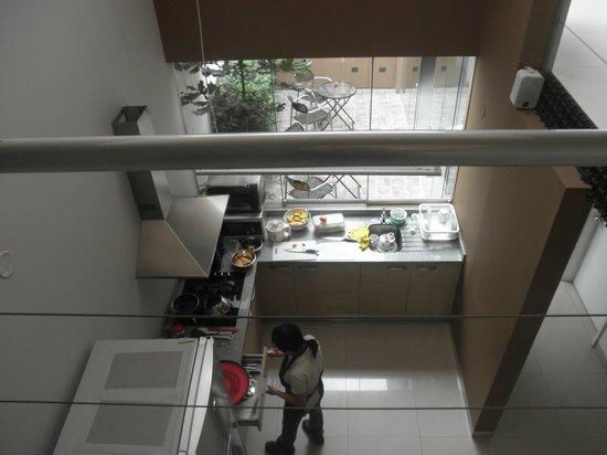 3B Barranco's - Chic and Basic - B&B: Vista de la cocina