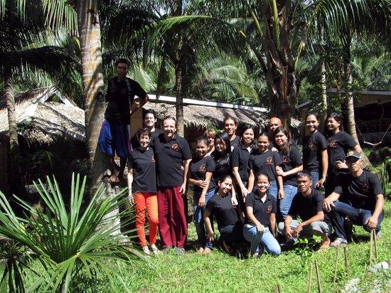 Camiguin Volcan Beach Eco Retreat & Dive Resort: Volcan Beach Staff