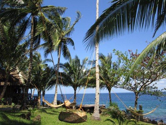 Camiguin Volcan Beach Eco Retreat & Dive Resort: Garden