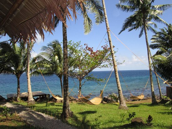 Camiguin Volcan Beach Eco Retreat & Dive Resort: Views from Beach Cottage