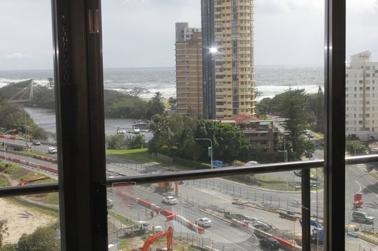 Surfers Paradise Marriott Resort & Spa: Our UPGRADED ROOM
