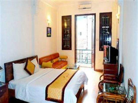 Hanoi Holiday Silver Hotel: balcony