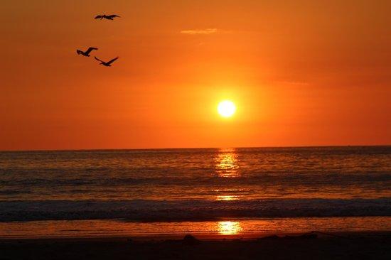 The Hideaway Hotel Playa Samara: sunset