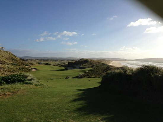 Lost Farm Barnbougle Golf Course: 14th - I think - world class vista