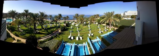 Constantinou Bros Athena Beach Hotel: VIEW FROM ROOM
