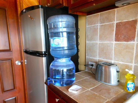 X'tan Ha Resort: free supply of clean drinking water