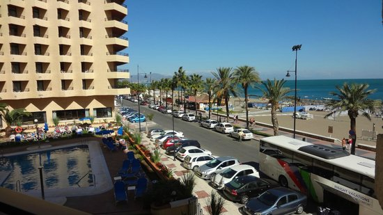 Melia Costa del Sol: View from hotel balcony