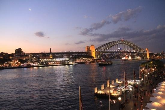 Pullman Quay Grand Sydney Harbour: The view from our balcony