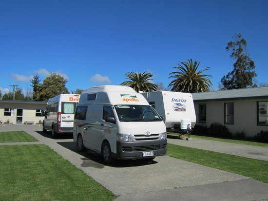 Spring Creek, New Zealand: Parked Up