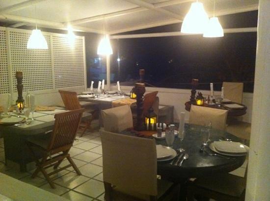 Posada Mediterraneo: La terrazza ristorante per colazione e cena