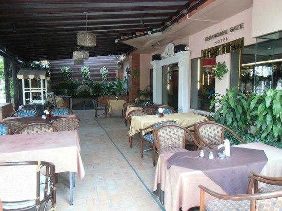 Chiang Mai Gate Hotel: レストラン