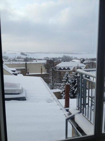 Hotel Drei Schwanen: View top floor room
