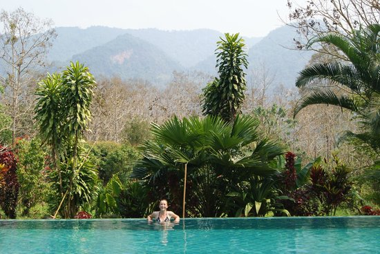 Hillside - Nature Lifestyle Lodge: View from the pool