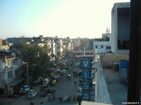 The Sunder: View from rooftop dining area